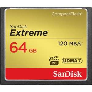 رم سی اف ۶۴ گیگ | Sandisk 64GB Extreme Compact Flash