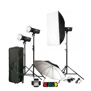 فلاش چترى | Manda300J Studio Flash Kit TC-300